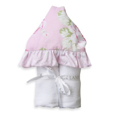 Caden Lane® Shabby Chic Rose Hooded Towel