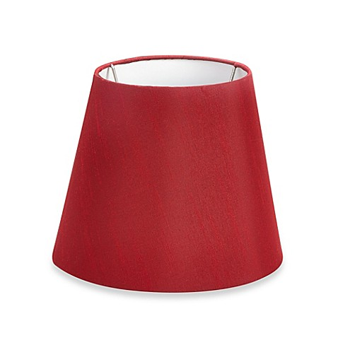 mix match small 9 inch drum lamp shade in red from bed bath b. Black Bedroom Furniture Sets. Home Design Ideas