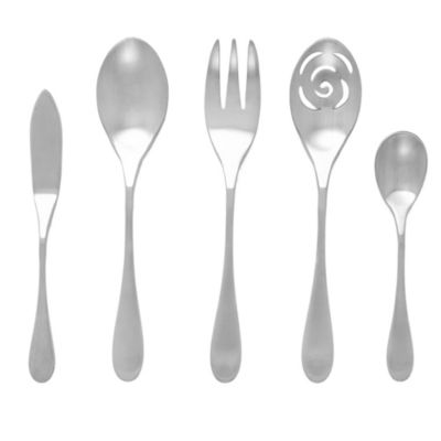 Knork® Matte 5-Piece Serving Set