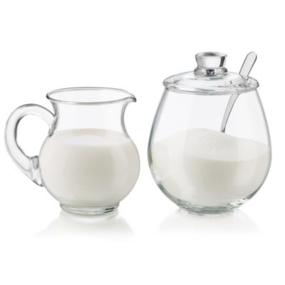 Libbey® Sugar and Creamer 4-Piece Set