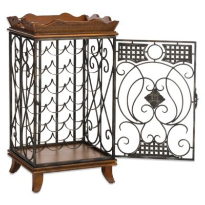 Safavieh Robin Wine Rack with Removable Tray