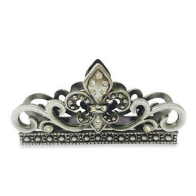 All For Giving Fleur De Lis Business Card Holder