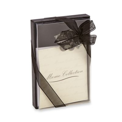 All For Giving Fleur de Lis Memo Pad with Magnetic Clip