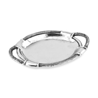 Star Home Arcadian Rope Oval Handle Platter