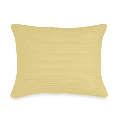Wamsutta® Baratta Stitch Oblong Throw Pillow in Butter