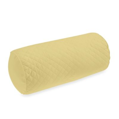 Wamsutta® Baratta Stitch Neckroll Pillow in Butter