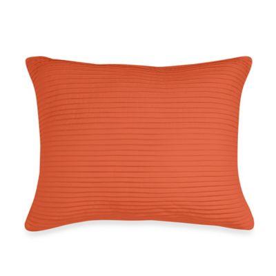 Wamsutta® Baratta Stitch Oblong Throw Pillow in Coral