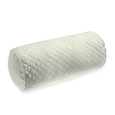 Wamsutta® Baratta Stitch Neckroll Pillow in Ivory