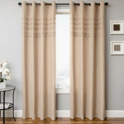 Softline Robin 84-Inch Window Curtain Panel in Natural