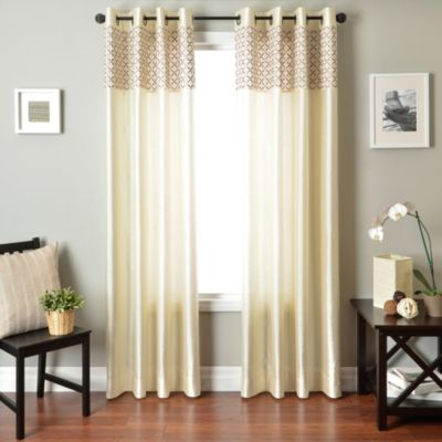 Softline Genie 84-Inch Window Curtain Panel in Slate