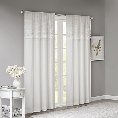 Redesign Your Home With Colorful Door Panel Curtains