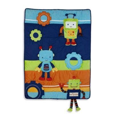 NoJo® Baby Bots 4-Piece Comforter Set