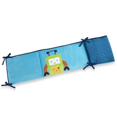 NoJo® Baby Bots Secure-Me Padded Crib Bumper
