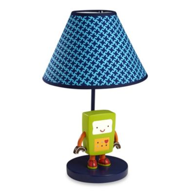 NoJo® Baby Bots Lamp and Shade