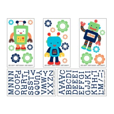 NoJo® Baby Bots Wall Decals