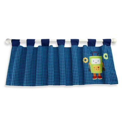 NoJo® Baby Bots Window Valance