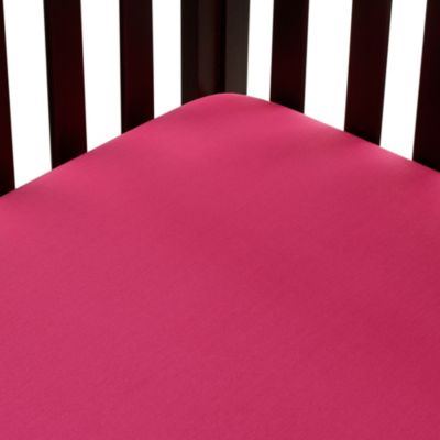 Carter's® Mix & Match Fitted Crib Sheet in Dark Pink