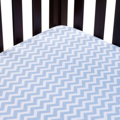 Carter's® Mix & Match Zigzag Fitted Crib Sheet in Blue