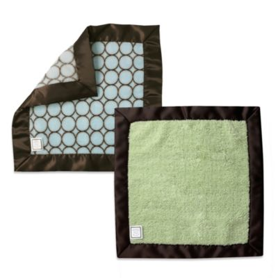 Swaddle Designs® Baby Lovie Double Security Blanket in Lime Green