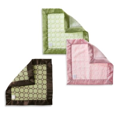 Baby Lovie Security Blanket in Lime Green