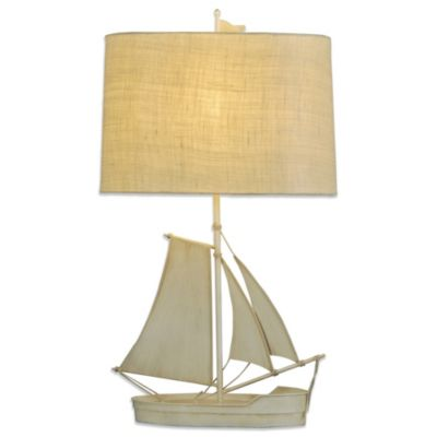 Coastal Sailboat Table Lamp