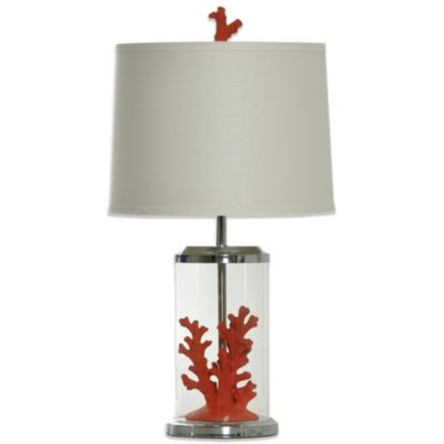 Coastal Coral Table Lamp