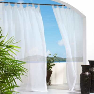 Spring Window Panels Treatments