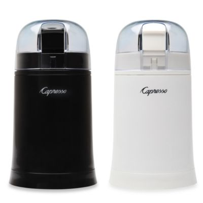 Capresso® Cool Grind Coffee & Spice Grinder in White