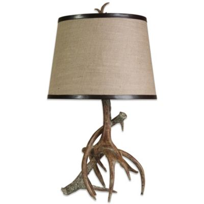 Dalton Antler Table Lamp