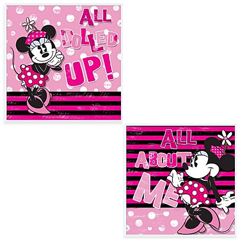 Minnie Mouse Wall Art Bed Bath Beyond