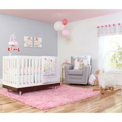 Just Born® Safe Sleep Botanica 3-Piece Crib Bedding Set