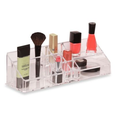 Clear 15 Compartment Cosmetic Organizer