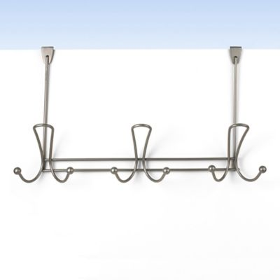 Spectrum™ Quazar Over-the-Door 9-Hook Rack