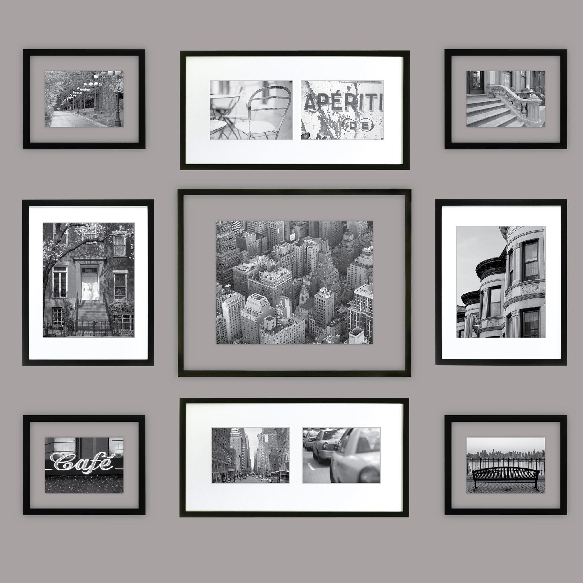 Frame Collage Kit Matted And Float Frame Kit