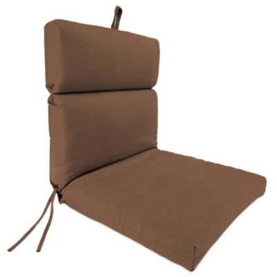 44-Inch x 22-Inch Universal Chair Cushion in Husk Texture Chocolate