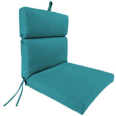 44-Inch x 22-Inch Universal Chair Cushion in Husk Texture Lagoon