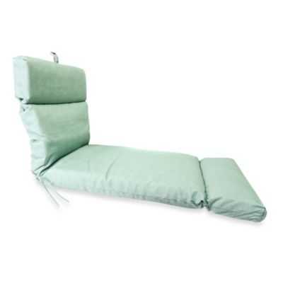 72-Inch x 22-Inch Chaise Lounge Cushion in Husk Texture Mist