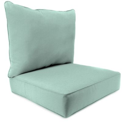 2-Piece Deep Seat Cushion in Husk Texture Mist