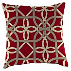 16-Inch x 16-Inch Square Toss Pillow in Keene Cherry