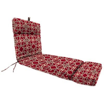 72-Inch x 22-Inch Chaise Lounge Cushion in Keene Cherry