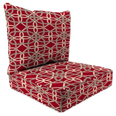 2-Piece Deep Seat Cushion in Keene Cherry