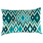 18-Inch x 12-Inch Rectangular Toss Pillow in Marva Peacock