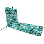 22-Inch x 72-Inch Chaise Lounge Cushion in Marva Peacock