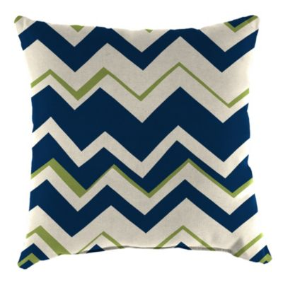 18-Inch Square Toss Pillow in Tempest Navy