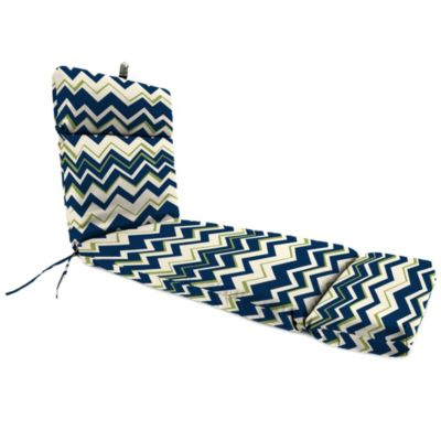 22-Inch x 72-Inch Chaise Lounge Cushion in Tempest Blue