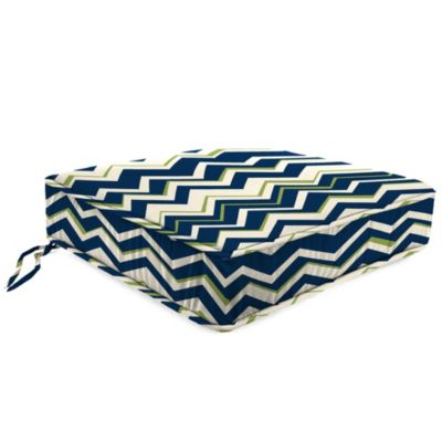 21-1/2-Inch x 22-1/2-Inch Box Edge Chair Cushion in Tempest Navy
