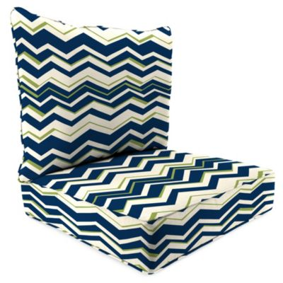 2-Piece Deep Seat Cushion in Tempest Navy