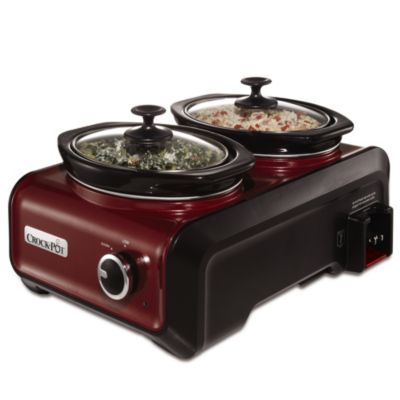 Crock-Pot® 1-Quart Oval Hook Up™ Connectable Entertaining System in Red