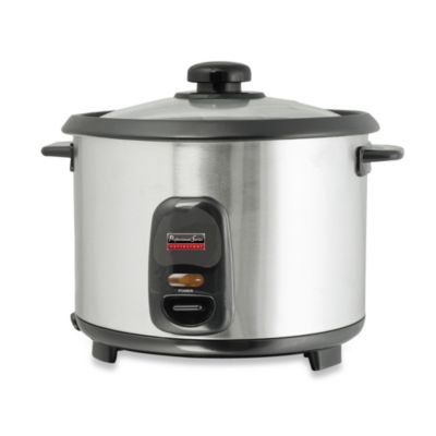 Electric Rice Cookers with Stainless Steel Bowls
