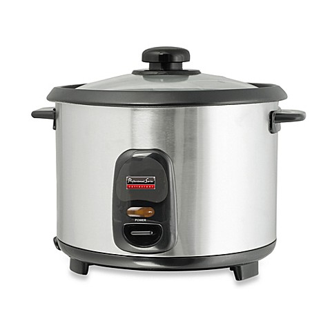 professional series 6 cup stainless steel rice cooker. Black Bedroom Furniture Sets. Home Design Ideas